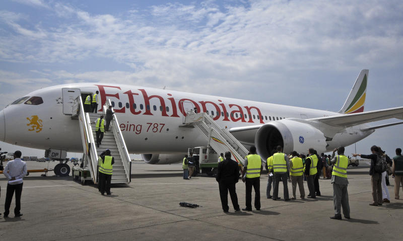 Ethiopia flies first Dreamliner since grounding