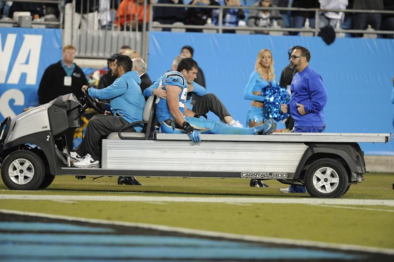 Panthers confirm concussion injury to LB Luke Kuechly