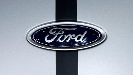 Ford is seen during the 87th International Motor Show at Palexpo in Geneva