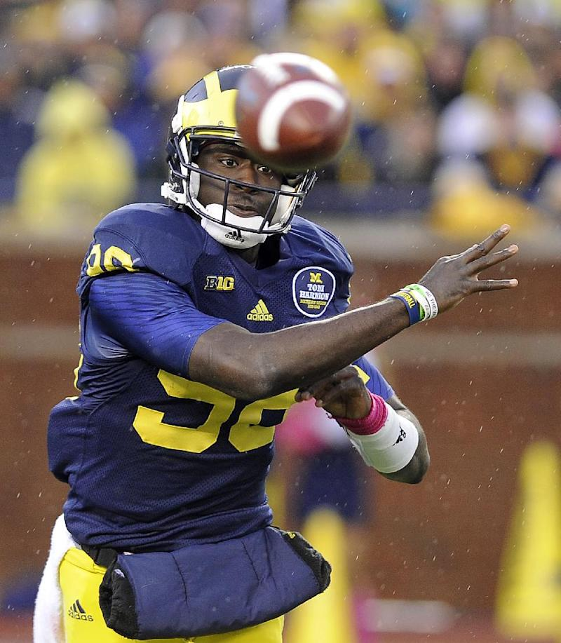 No. 24 Michigan still searching for its identity