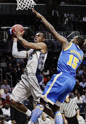 Georgetown beats No. 11 UCLA 78-70