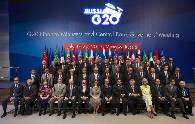 G20 finance ministers aim for more growth