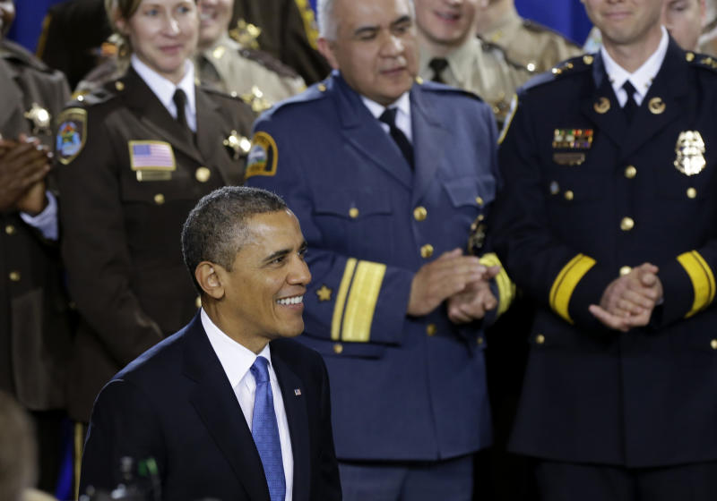 Obama stands firm on gun control despite long odds