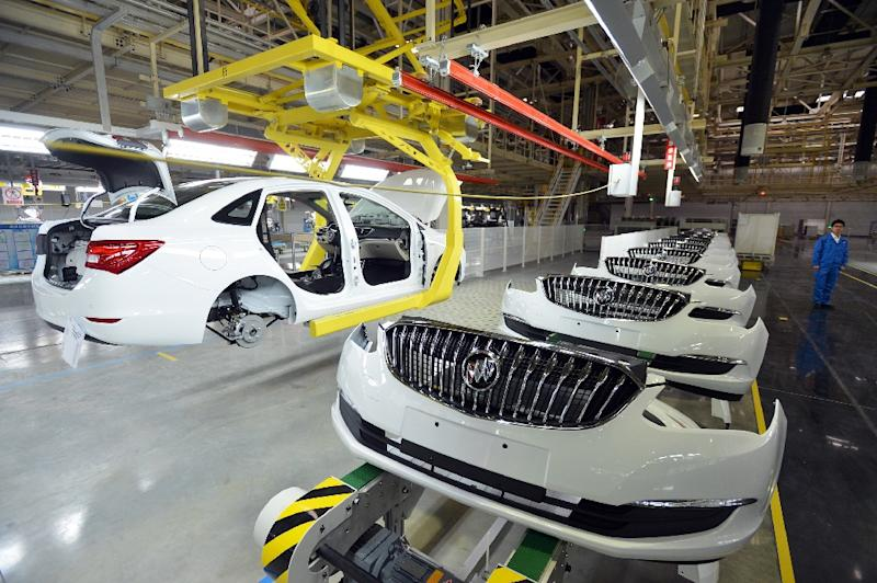 Gm auto sales in china through the first eight months of the year