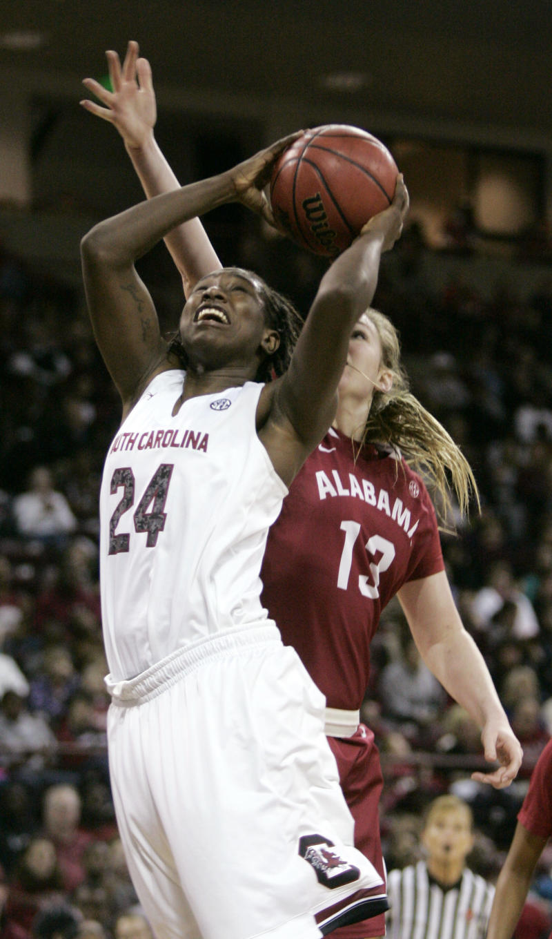 Ibiam leads No. 8 Gamecocks to 77-51 win