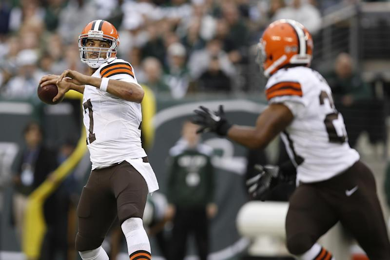 Browns QB Campbell wishing for win to end season