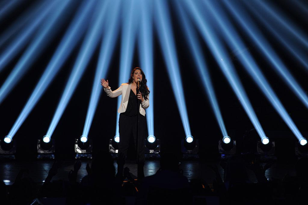 "Kree Harrison performs ""All Cried Out"" on the Wednesday, May 15 episode of ""American Idol."""