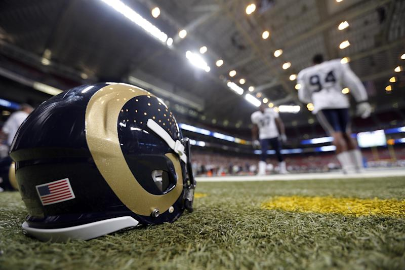 Rams LT Long trying to stay patient as he heals