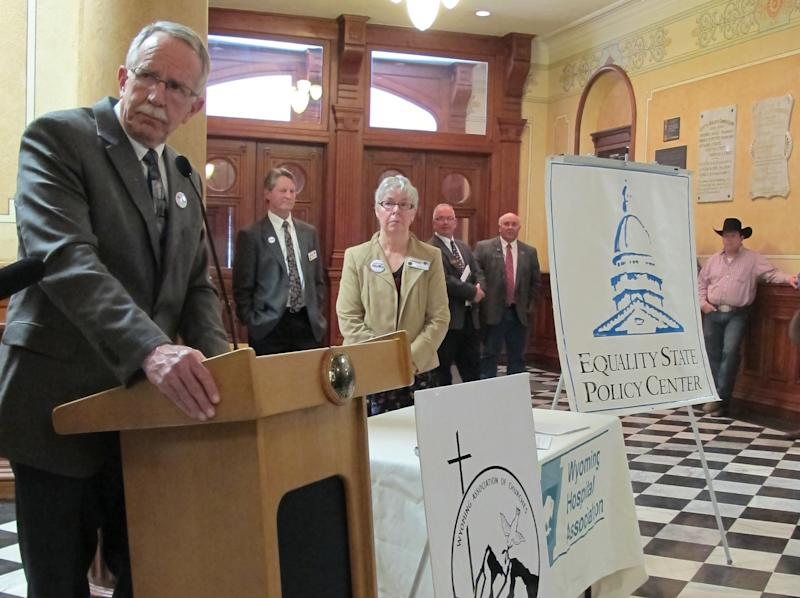 Groups lobby for Wyoming Medicaid expansion