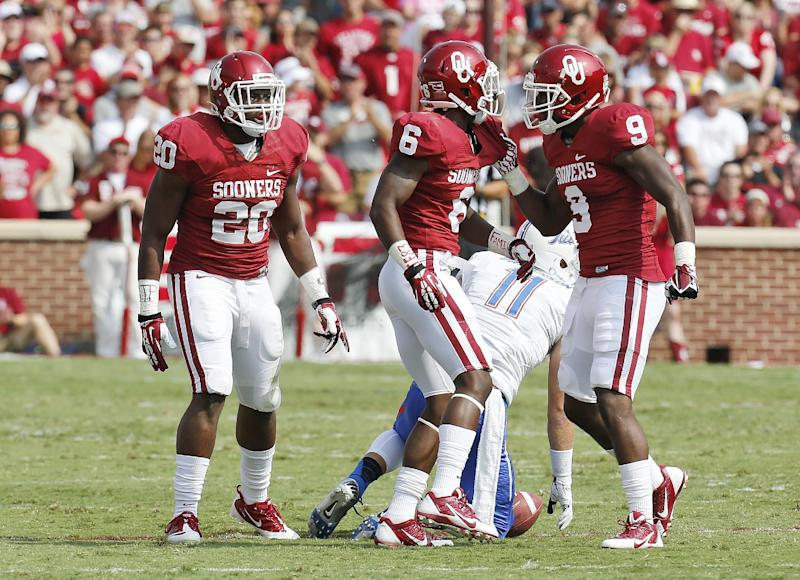 Oklahoma LB Frank Shannon faces 1-year suspension