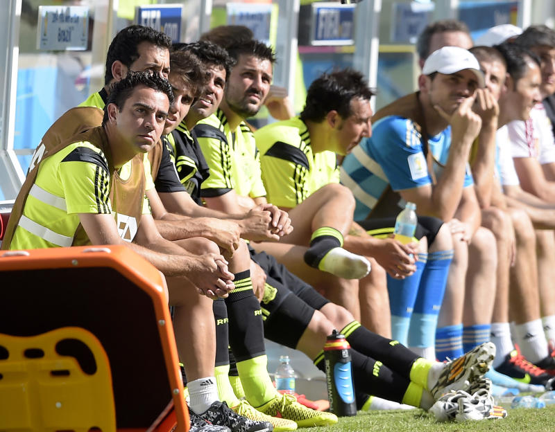 Spain already eyeing Euro 2016 after World Cup