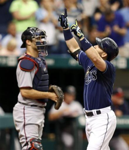 Moore wins 13th, Rays sweep Twins