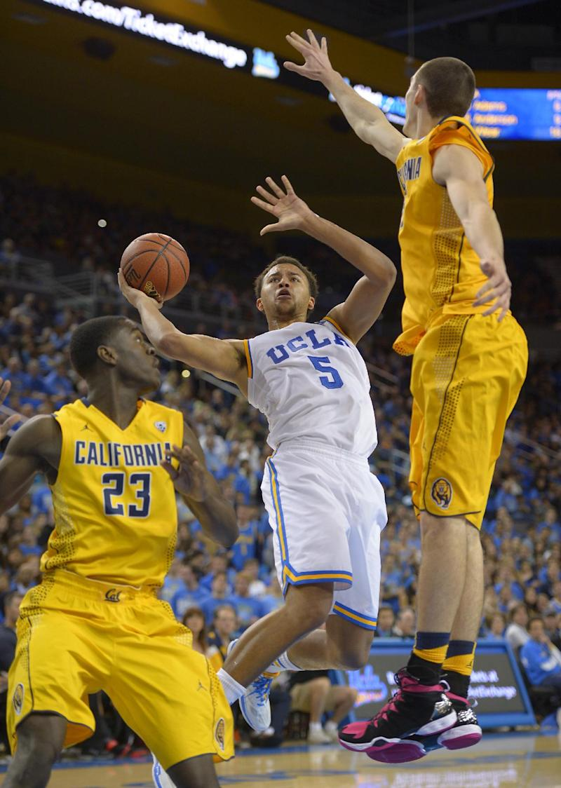 Wear's career-high leads UCLA past Cal 76-64
