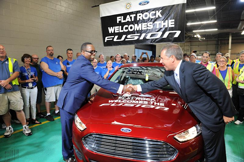 Ford to make Fusion in US for first time