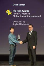 Prolific Inventor, Tech Visionary Dean Kamen Honored With the James C. Morgan Global Humanitarian Award at The Tech Awards 2013