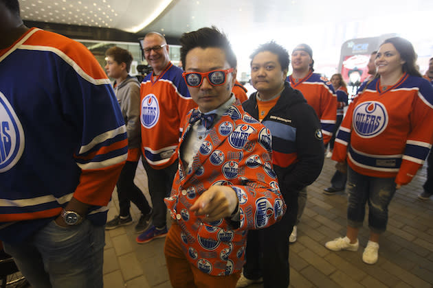 Oilers blank Sharks again, grab series lead