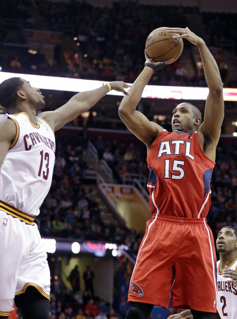 Hawks unsure how much time Horford will miss