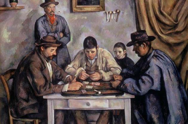 """The Card Players"" by Paul Cézanne, $250 million."