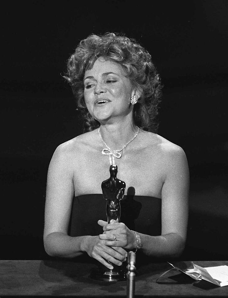 """You like Sally Field (1985): """"Places in the Heart"""" earned Field her second best-actress Oscar -- the first came for 1979's """"Norma Rae"""" -- but this one meant more to her, she said in her acceptance speech as she clutched the golden statue, giddy and beaming. This time, she said she finally felt the respect of her peers: """"I can't deny the fact that you like me. Right now, you like me!"""" It's a line that would be endlessly parodied -- and misquoted."""