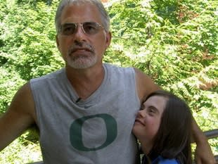 Seaside parent Randy Anderson and his daughter Whitney — The Oregonian