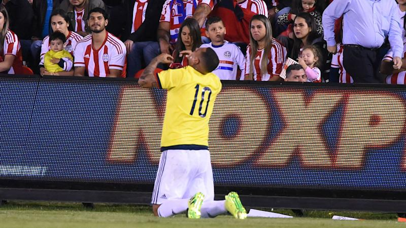 Paraguay 0-1 Colombia: Substitute Cardona secures last-gasp victory