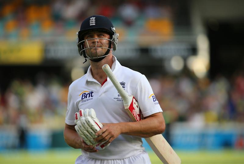 England batsman Jonathan Trott was recalled by the England and Wales Cricket Board (ECB) as part of a 16-man party for a three-Test tour of the West Indies starting next month