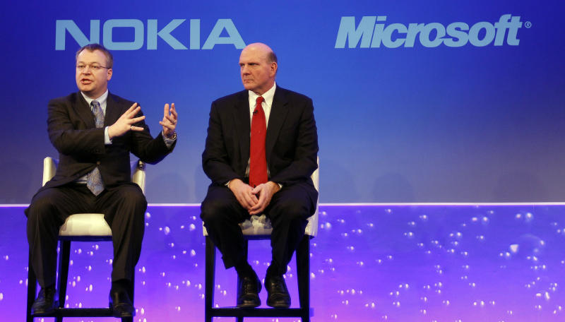 Microsoft to buy Nokia phones, patents for $7.2B
