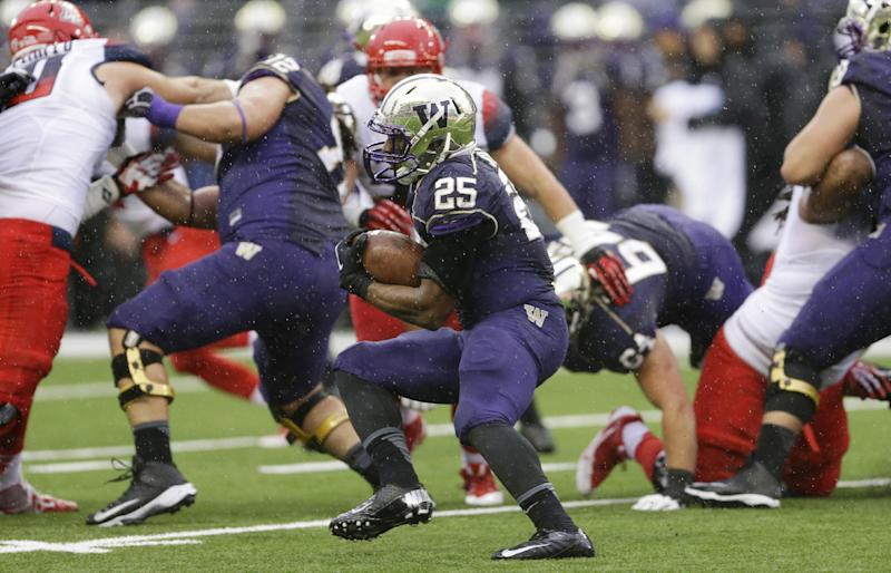 Sankey sets school record in UW's win over Arizona