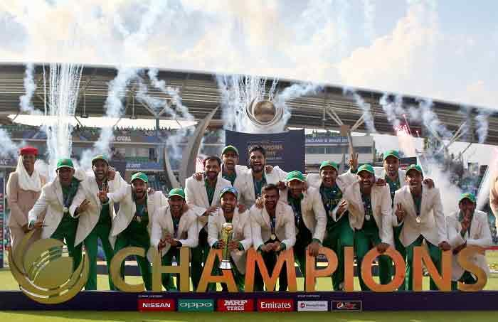 Jubilation in Pakistan after win over India