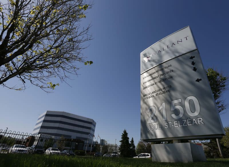 The head offices of Valeant Pharmaceuticals International Inc. are seen in Laval, Quebec
