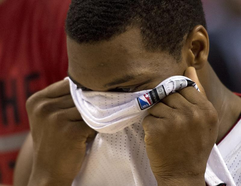 Lowry ponders future after playoff exit