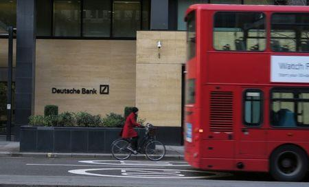 Deutsche Bank executive says some 4000 UK jobs could move