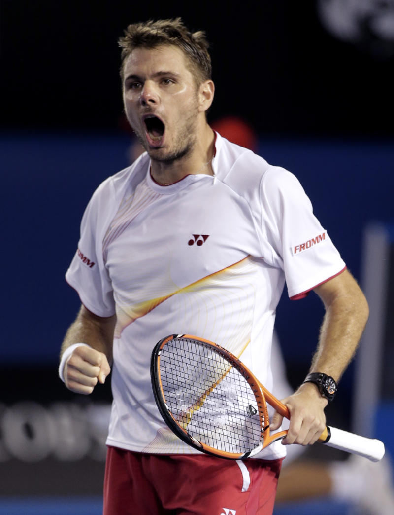 Wawrinka into Aussie final; Nadal or Federer next
