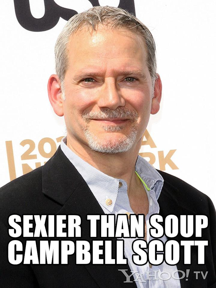 "<strong>Campbell Scott<br /><br /></strong>And the John Cusack Award for Utter and Total Likability and Sex Appeal and Sweet Shyness as Displayed in ""Singles"" / Would Rescue a Kitten Out of a Tree and Bring Flowers to a Girl for No Reason with Great Frequency / Dramatic and Comic Depth in All Interactions goes to Campbell Scott. This ""<a href=""http://tv.yahoo.com/shows/royal-pains/"">Royal Pains</a>"" regular would actually listen to your aunt tell her story about bad breakfast at a B&B in northern Vermont for the 50th time … and enjoy it. Do we know this for a fact? No. But we feel it, in our heart."