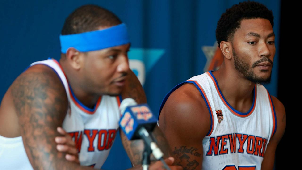 The new Knicks point guard says he OK no longer being the top option on the floor.