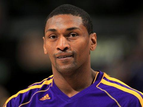 metta world peace lakers