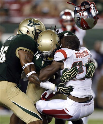 Jamison leads Rutgers to 23-13 victory over USF