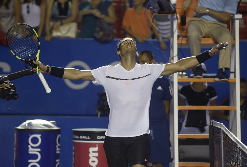 Querrey stuns Nadal to lift Mexican Open title