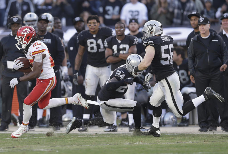 Raiders show signs of regression