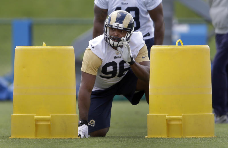 Sam, Rams rookies on field for 2nd day