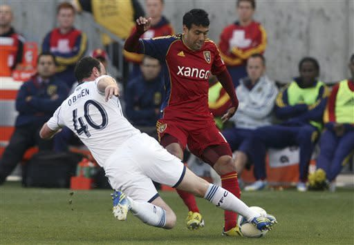 Gil, Morales lead Real Salt Lake past Whitecaps