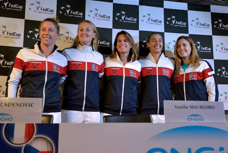 Garcia gives France 2-1 lead in Fed Cup final