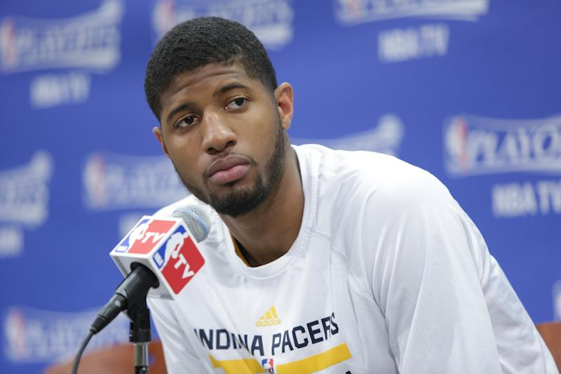 Police say All-Star ring stolen from Paul George