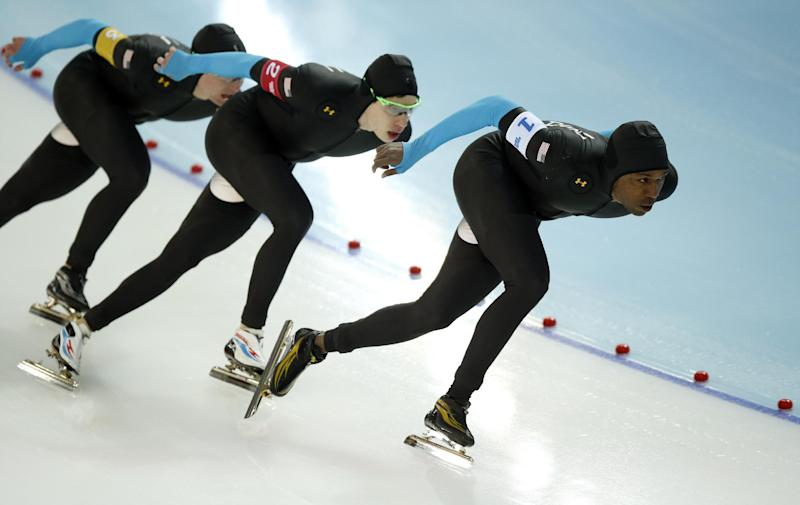Davis done at Sochi Games, sits out team pursuit