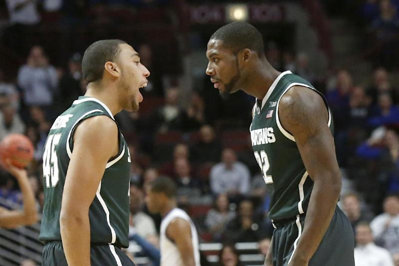 No. 2 is No. 1 as Spartans beat Kentucky 78-74