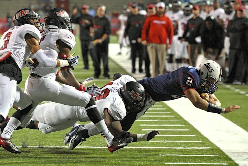 Arkansas St. edges past S. Alabama 17-16