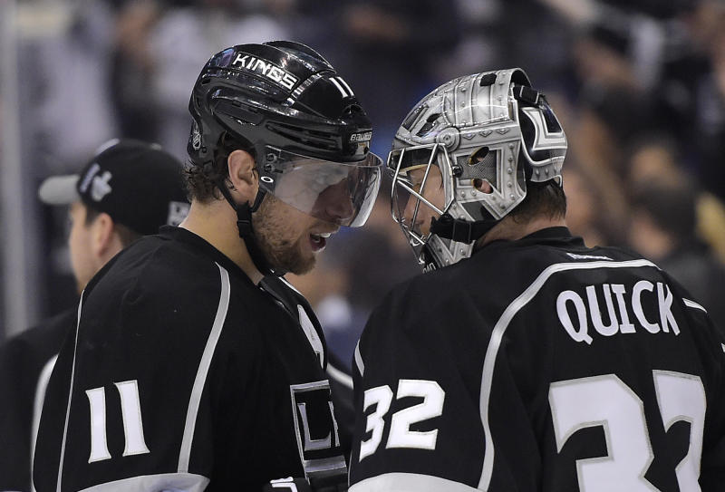 LA Kings surge past Sharks 4-1, force Game 7