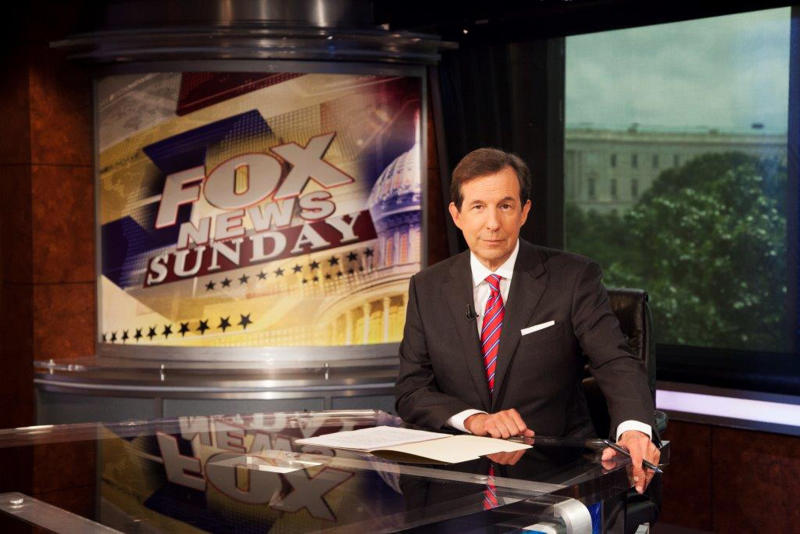 Chris Wallace marks 10 years as Fox host