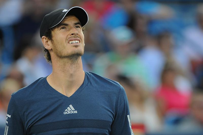 Andy Murray, seen here in Cincinnati last week, looks up to the U.S. Open draw gods and wonders what he did to anger them. (Photo by Jonathan Moore/Getty Images)