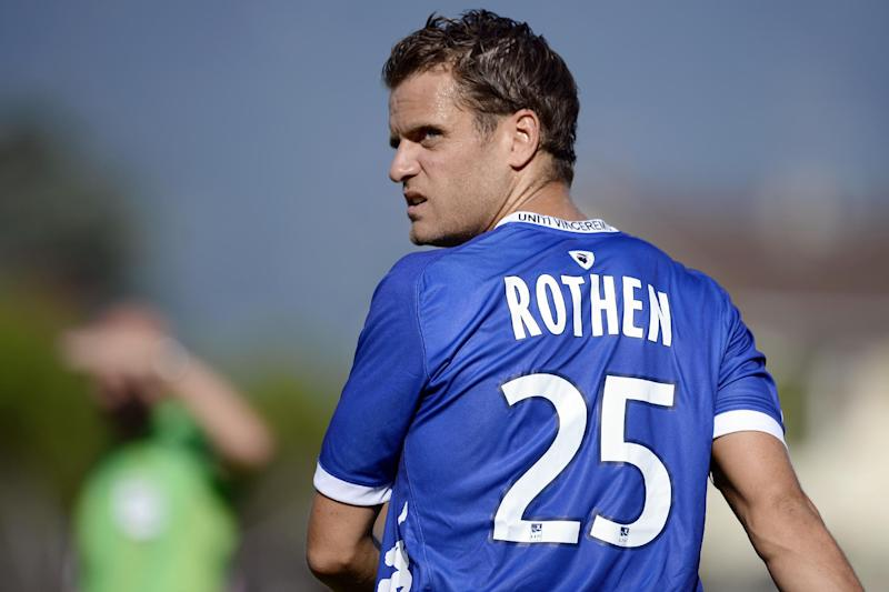 Bastia's French midfielder Jerome Rothen is pictured during the friendly football match Evian Thonon Gaillard vs Bastia on July 24, 2012, at the Salvator Mazzeo stadium in the French eastern city of Gaillard